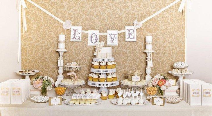 33 Amazing Wedding Dessert Table Ideas   Table Decorating Ideas