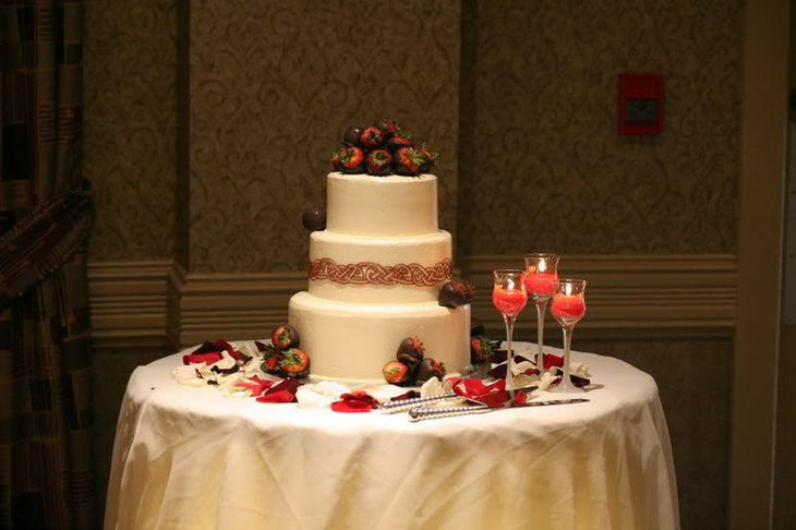 wedding cake table decorating ideas 37 creative wedding cake table decorations table 26180