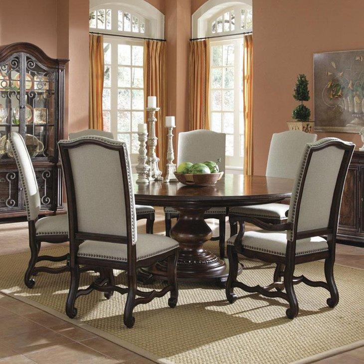 37 Elegant Round Dining Table Ideas Table Decorating Ideas