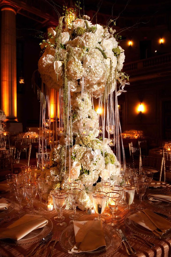 Exotic Wedding Centerpieces with Flowers