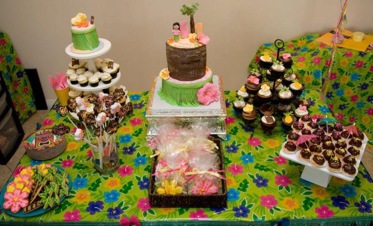 Top 35 Summer Birthday Party Ideas Table Decorating Ideas