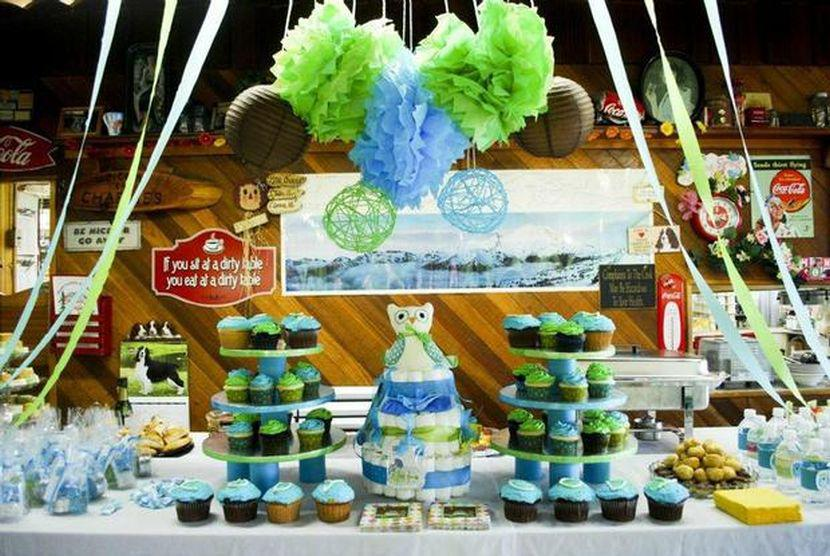31 cool baby shower ideas for boys table decorating ideas negle Choice Image