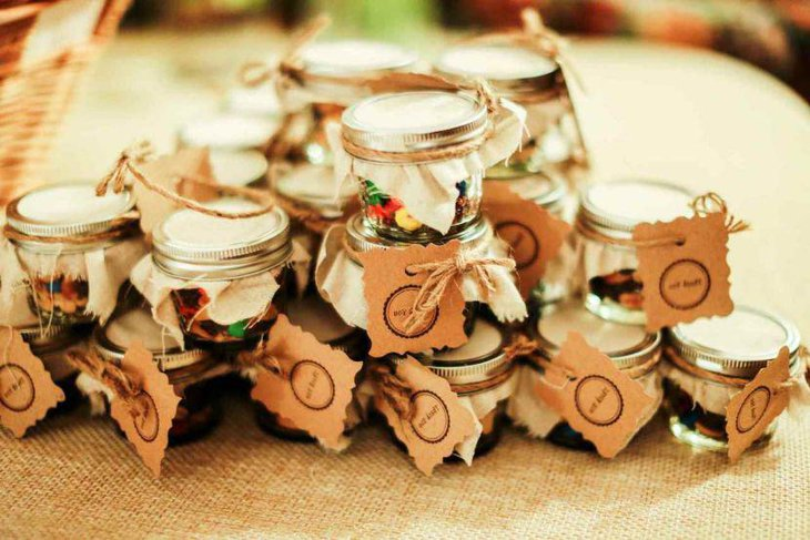Garden party favor ideas