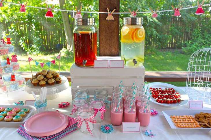 Garden Simple and Elegant Spring Baby Shower for Boys