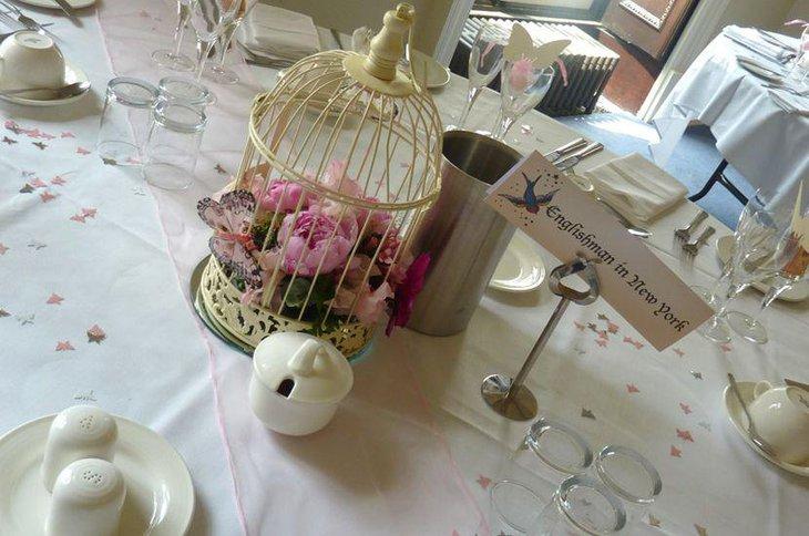 37 Unique Birdcage Centerpieces For Weddings Table Decorating Ideas
