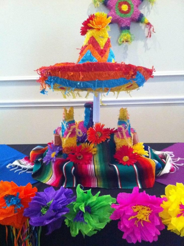 Gorgeous Mexican fiesta party centerpiece & 35 Mexican Table Decorations Ideas | Table Decorating Ideas