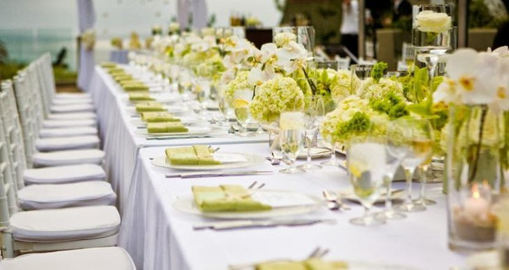 Yellow and white wedding decoration ideas green yellow and white are beautiful colours that represent fruitfulness natures green vegetation and purity yellow wedding decor outstanding junglespirit Gallery