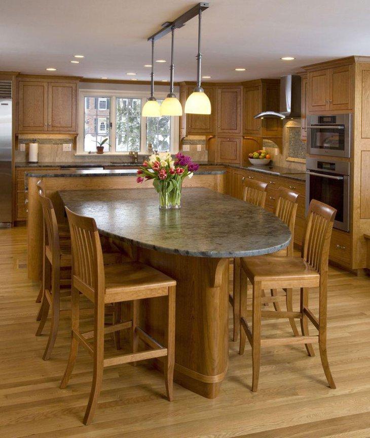 Kitchen Table Granite: 39 Elegant Granite Dining Room Table Ideas
