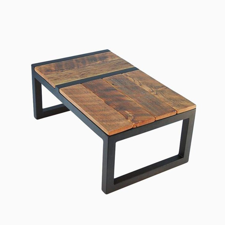 Handmade Rustic Modern Coffee Table