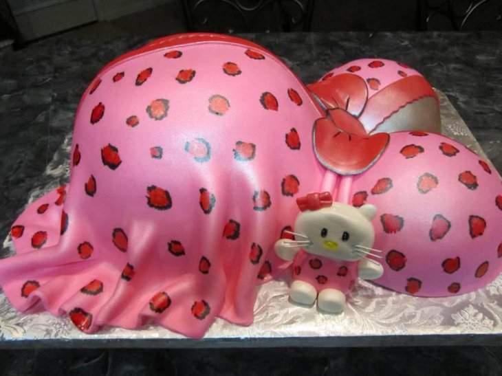 Hello Kitty Baby Shower Cakes Ideas