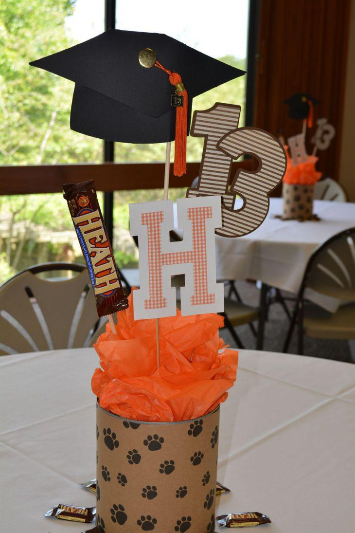 35 fascinating graduation centerpieces ideas table for Images of centerpiece ideas