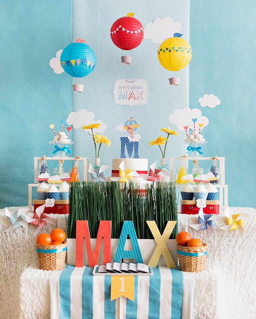 37 Cool First Birthday Party Ideas For Boys Table Decorating Ideas