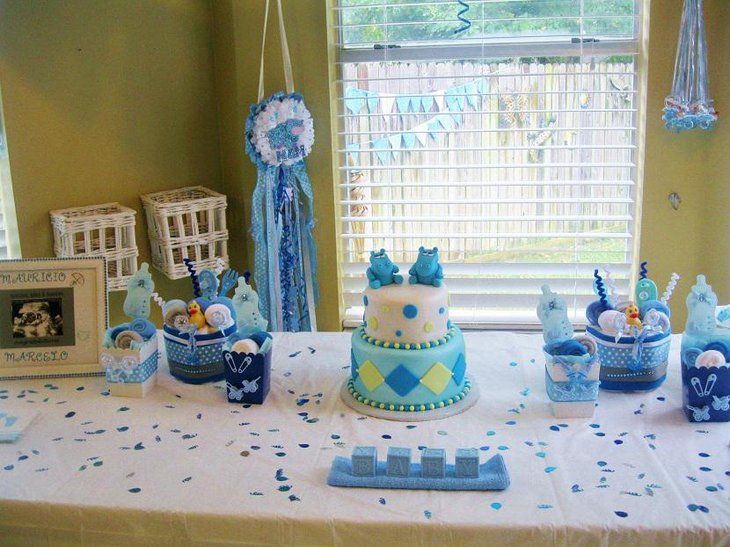 Its a Boy Spring Baby Shower Ideas