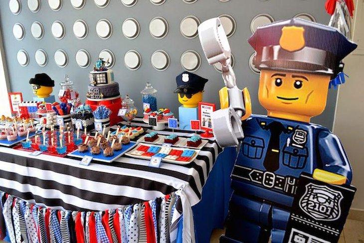 35 Lego Theme Party Table Decoration Ideas Table