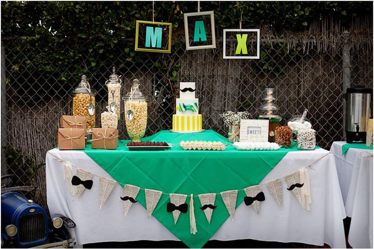 Little Mister Outdoors Spring Baby Shower Idea for Boys