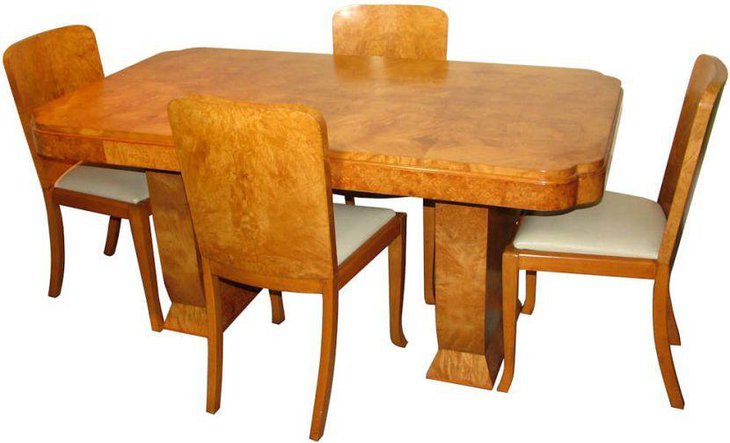 Modern Art Deco Dining Table Design