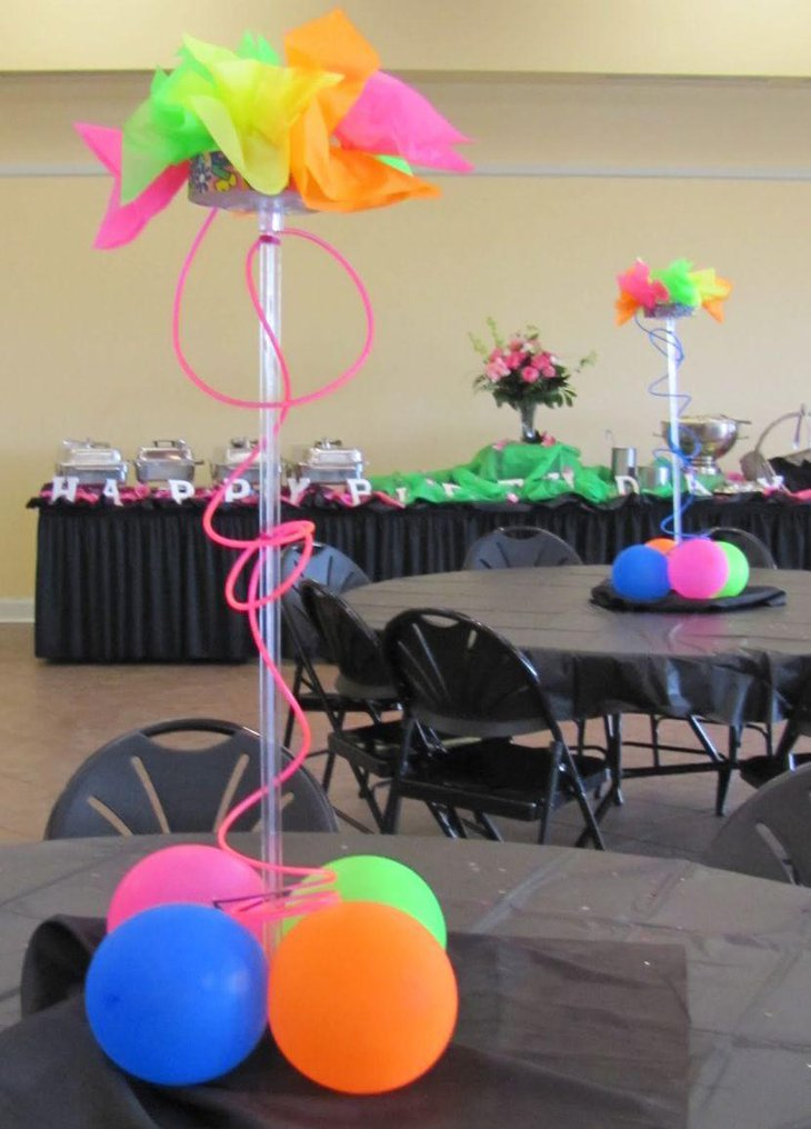 37 sweet 16 birthday party ideas table decorating ideas for 80 s table decoration ideas