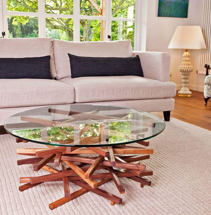 The Most Inspired Unique Contemporary Coffee Tables Ideas: 35 Unique Coffee Table Ideas For Living Room