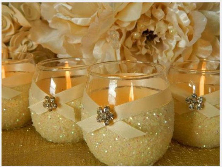 Opulent Bridal Shower Centerpiece