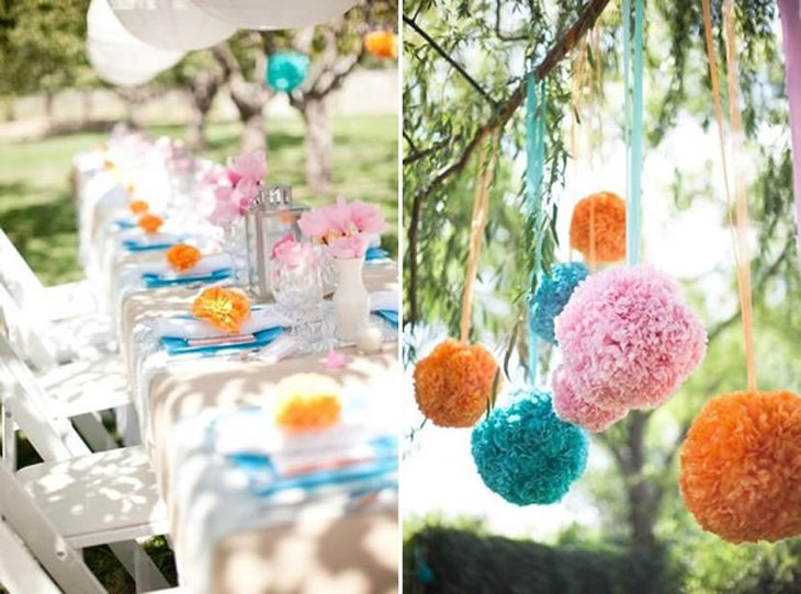 Outdoor Themed Bridal Shower Party