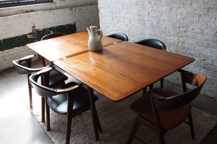 Peru Wooden Expandable Dining Table