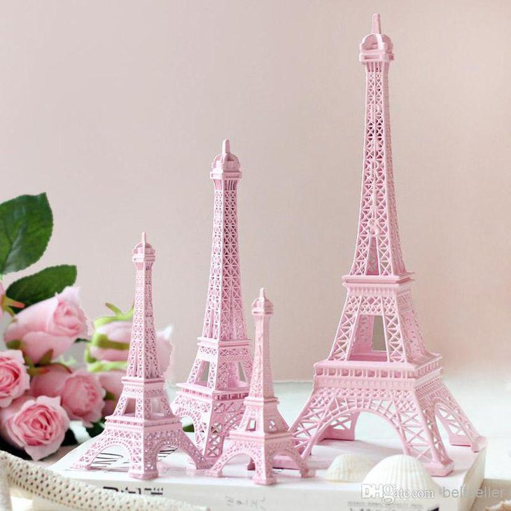 Eiffel tower table decorations ideas decorating