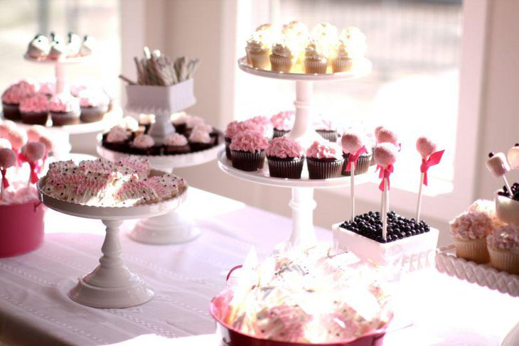 cake table decor 35 delicious bridal shower desserts table ideas table 2343