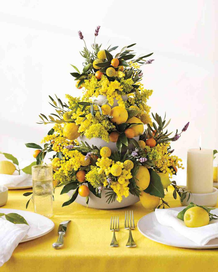 Pleasing Spring Wedding Centerpieces