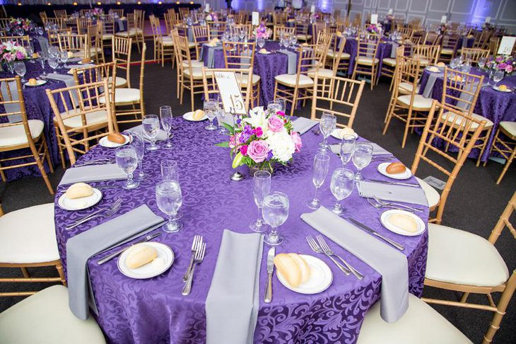 Terrific Purple Table Settings Gallery - Best Image Engine . & Marvelous Purple And Teal Table Settings Gallery - Best Image Engine ...