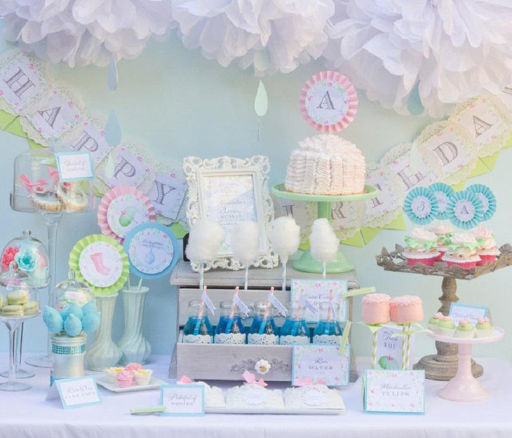 37 Creative Spring Baby Shower Ideas For Boys Table Decorating Ideas