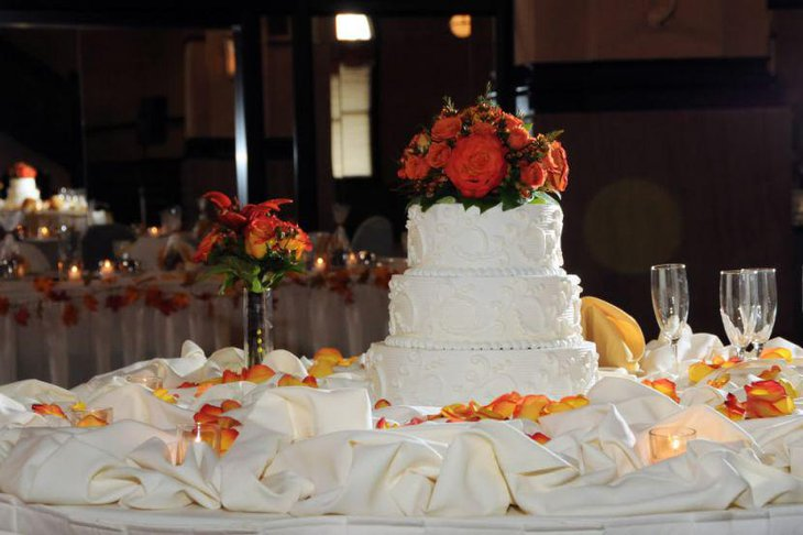 wedding cake table design ideas 37 creative wedding cake table decorations table 26187
