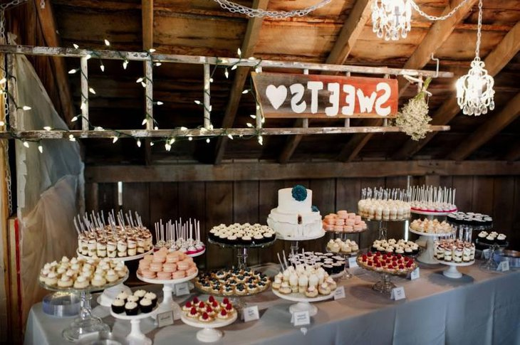 Rustic Dessert Table Ideas For Weddings
