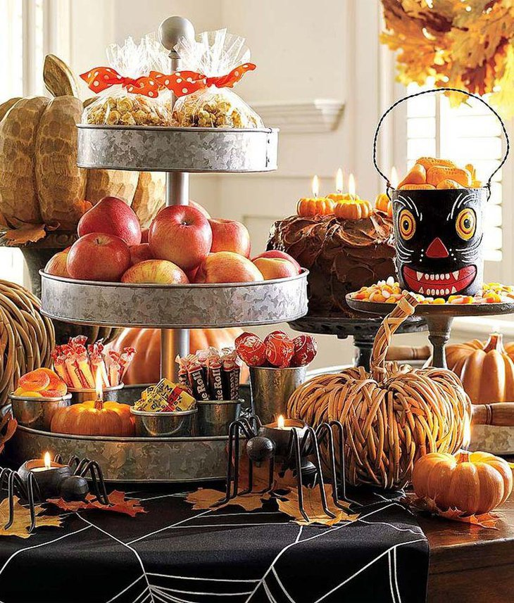 37 Ideas for Halloween Table Decorations   Table ...
