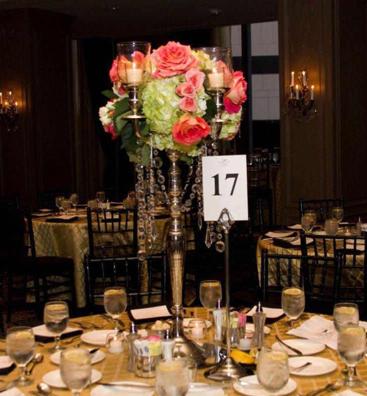 Modern table candelabra centerpieces decorating