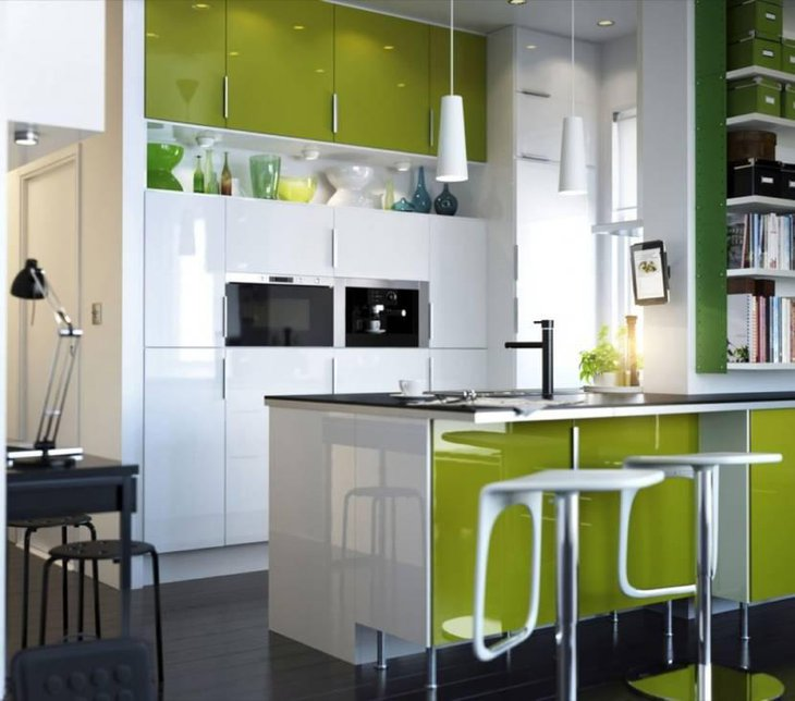 Small Kitchen Design With Breakfast Area