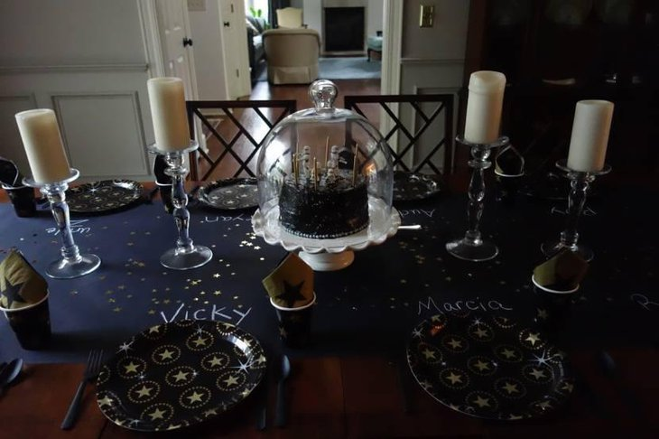 Star Wars Birthday Party Guest Table
