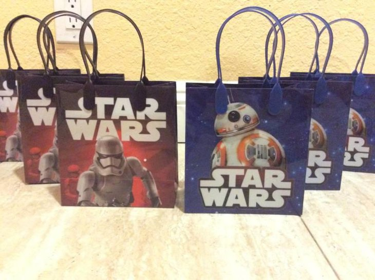 Star Wars Goody Bags Part Favors