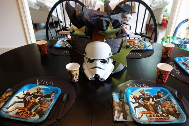 Star Wars Themed Plates For Birthday Party