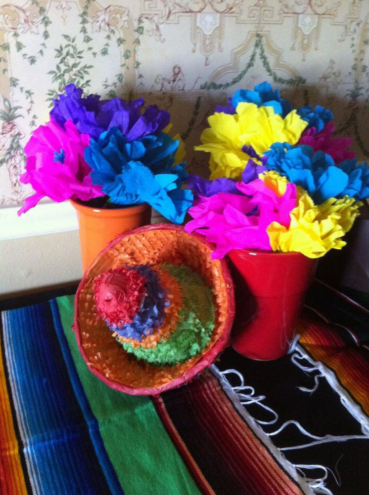 Floral Decor: 35 Mexican Table Decorations Ideas