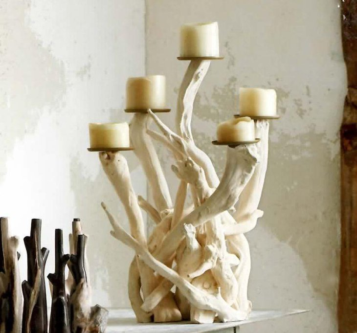 Modern table candelabra centerpieces decorating