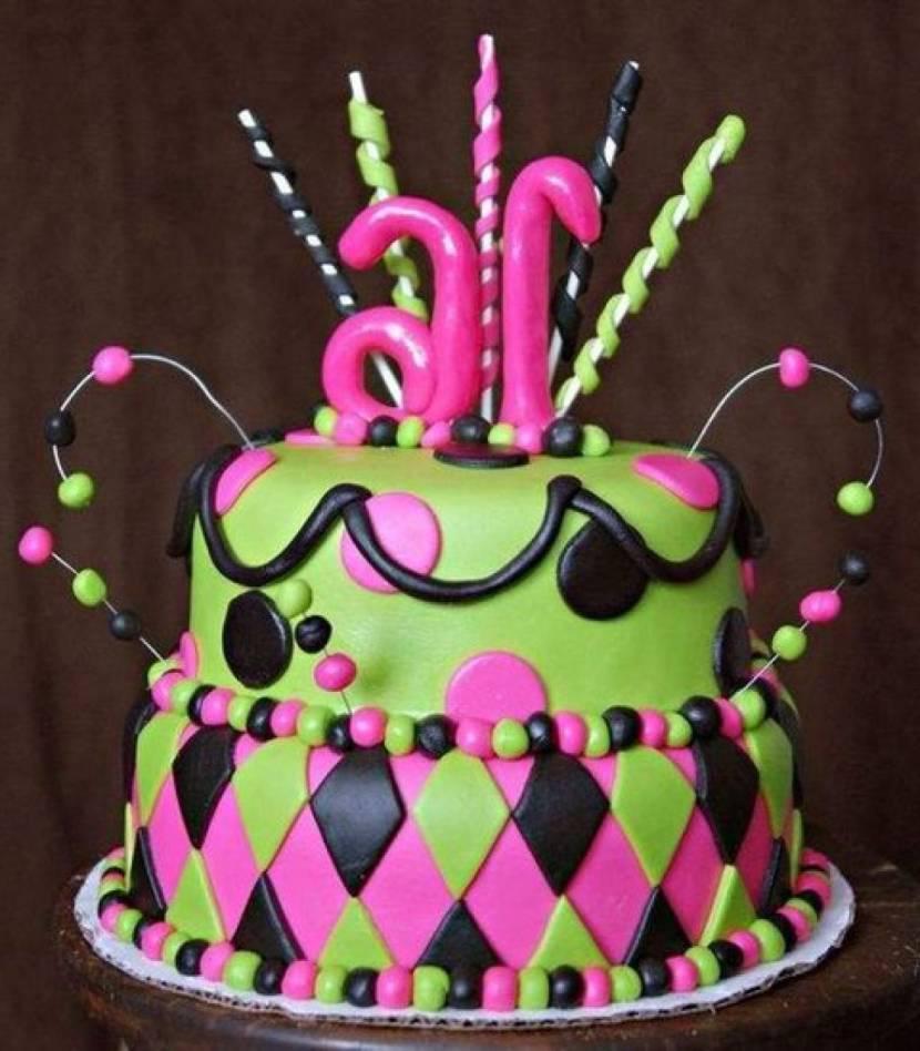 33 Pretty Birthday Cake Ideas For Girls Table Decorating Ideas