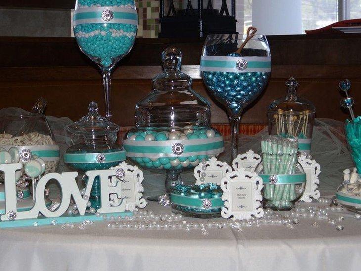 wedding candy table ideas - Wedding Decor Ideas