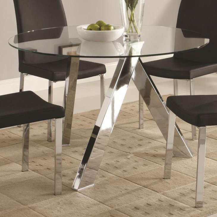 Trendy Dining Table: 39 Modern Glass Dining Room Table Ideas