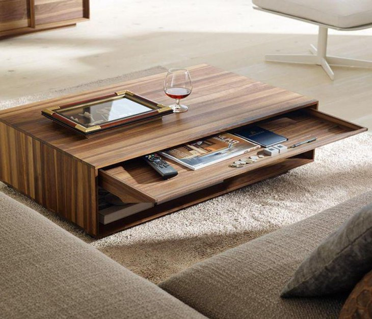 35 Unique Coffee Table Ideas For Living Room