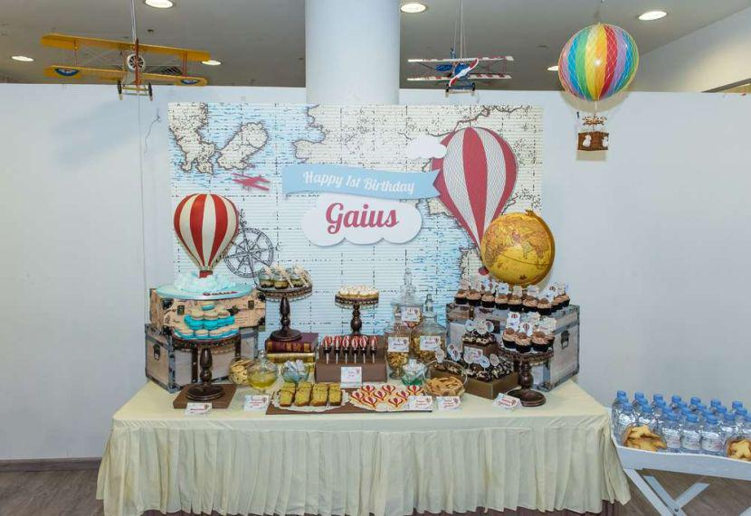 & 37 Cool First Birthday Party Ideas For Boys | Table Decorating Ideas
