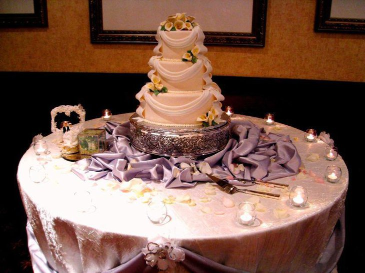 cake table ideas 37 creative wedding cake table decorations table 2344