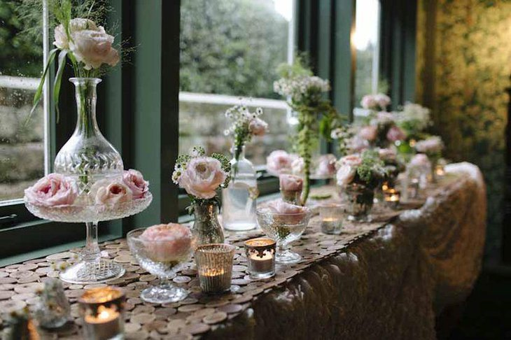 35 gorgeous vintage wedding table decorations table - Glass vases for wedding table decorations ...