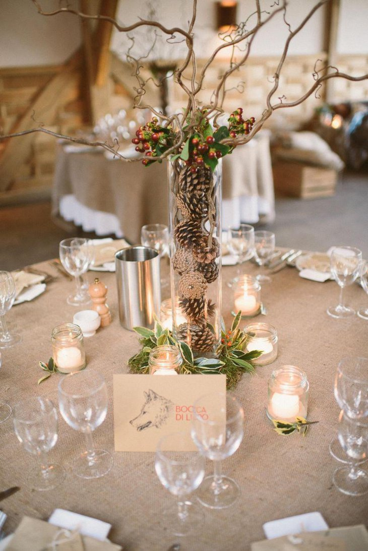 Gorgeous vintage wedding table decorations