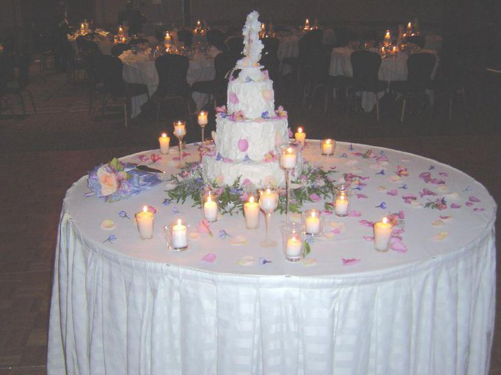 table decorations for wedding cake 37 creative wedding cake table decorations table 20734
