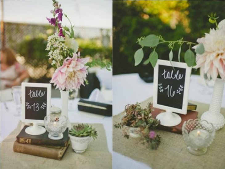 Wedding Ceremony chalkboard table name ideas